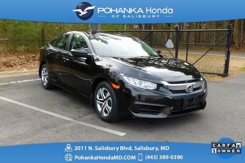 2018_Honda_Civic_LX ** 1 OWNER ** Honda Certified 7 Year / 100,000 **_ Salisbury MD