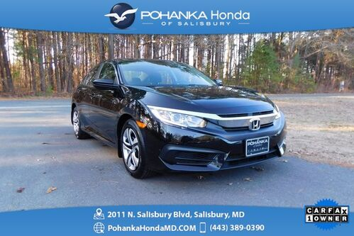 2018_Honda_Civic_LX ** Honda True Certified 7 Year / 100,000  **_ Salisbury MD