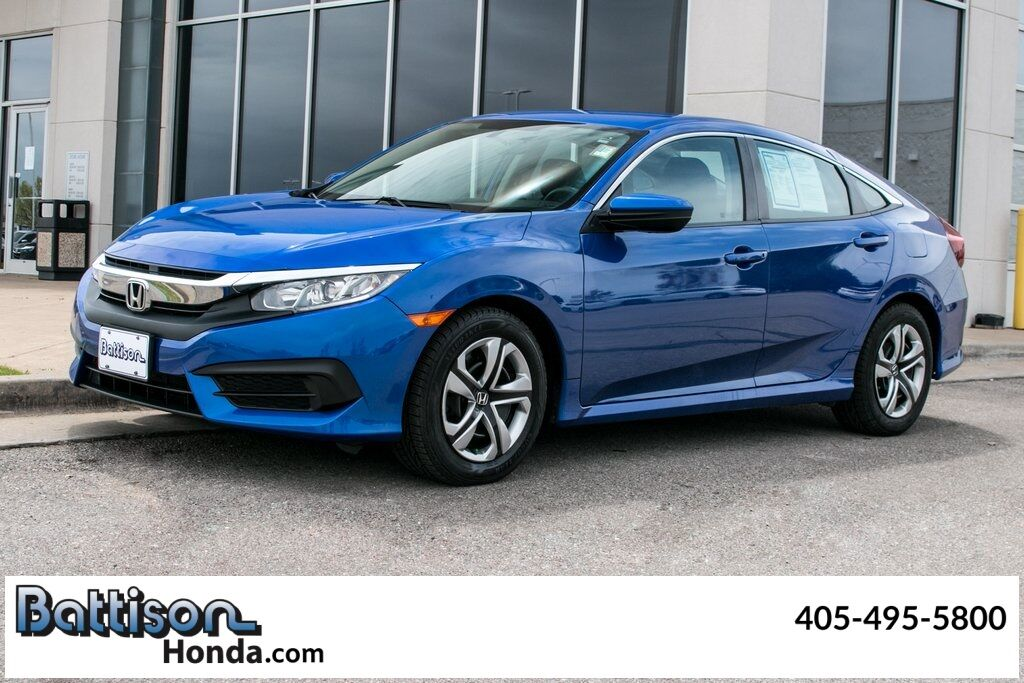 2018_Honda_Civic_LX_ Oklahoma City OK