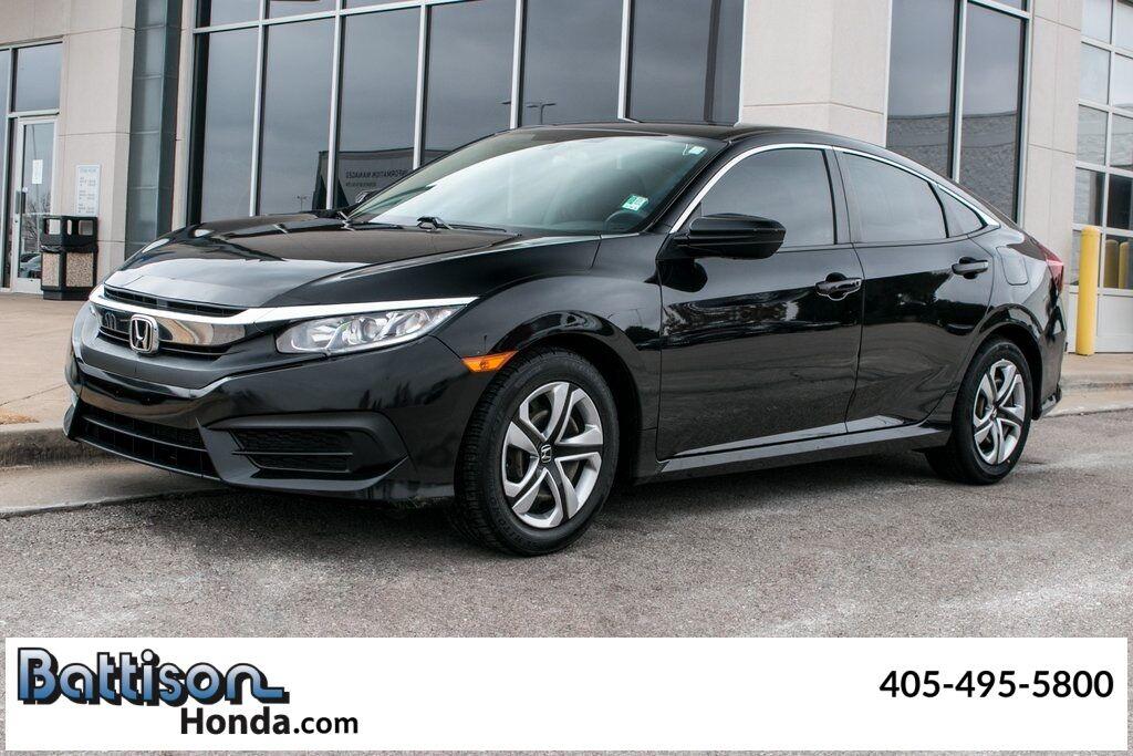 2018_Honda_Civic_LX_ Oklahoma City OK