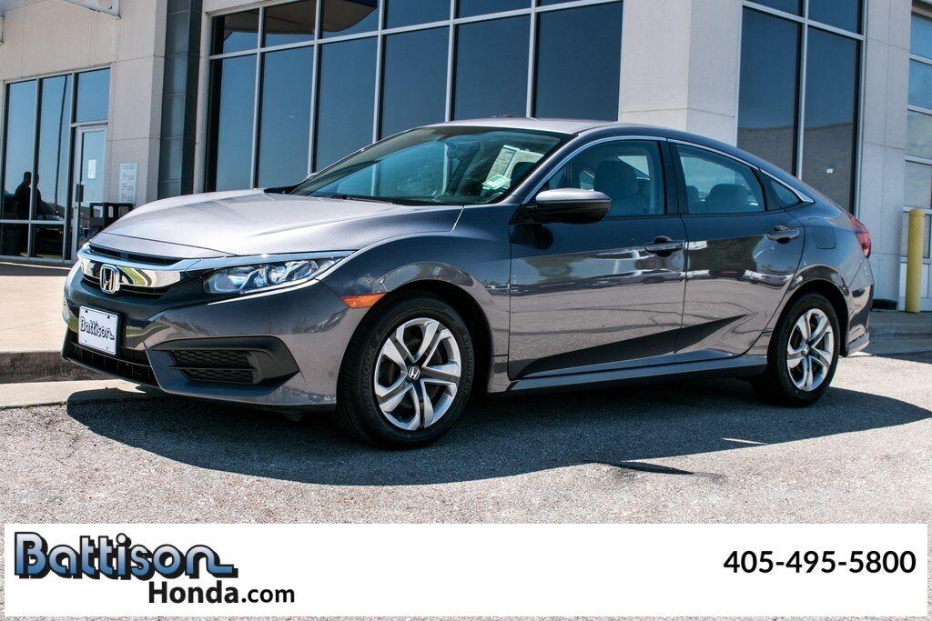 2018 Honda Civic LX Oklahoma City OK
