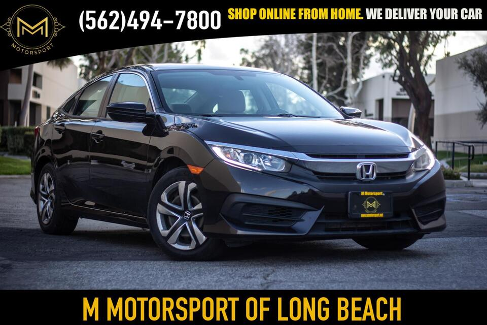 2018_Honda_Civic_LX Sedan 4D_ Long Beach CA