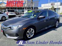 2018 Honda Civic LX w/Pedigree