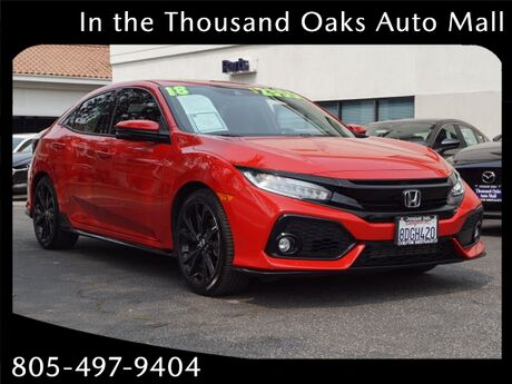 2018 Honda Civic SPORT TOURING Thousand Oaks CA