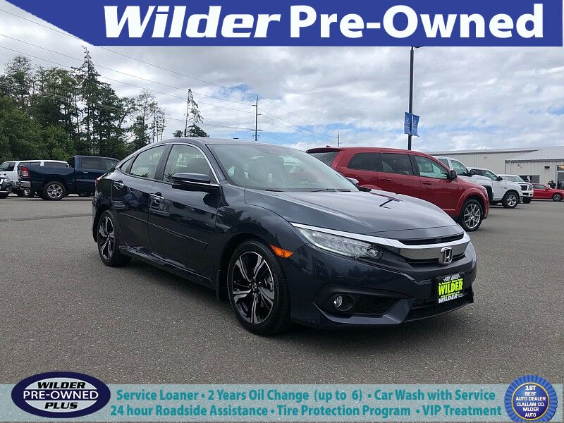 2018 Honda Civic Sedan 4d Touring Port Angeles WA