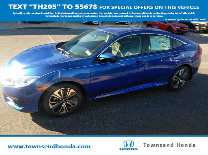 2018 Honda Civic Sedan EX-L 1.5L Tuscaloosa AL