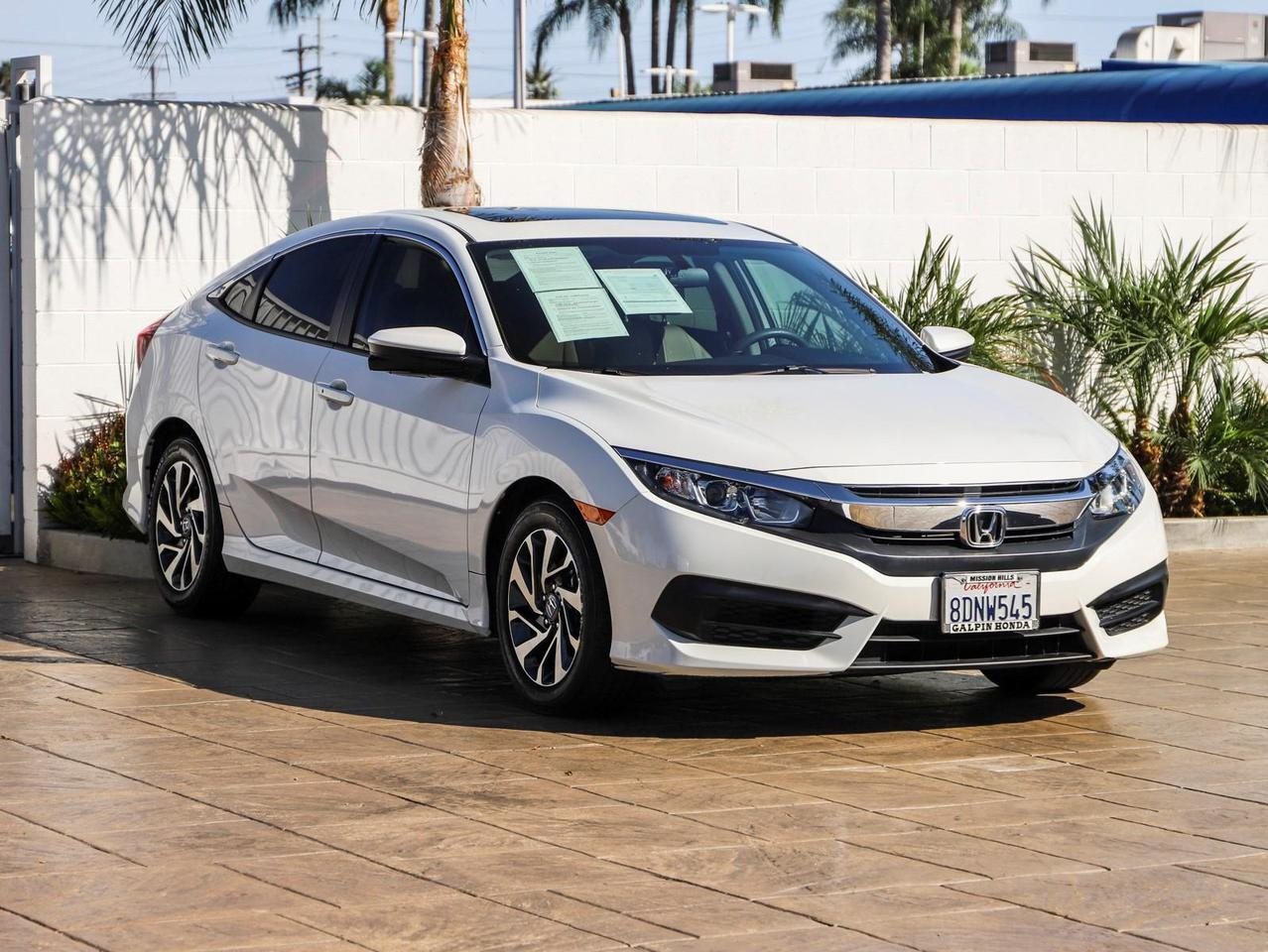 2018 Honda Civic Sedan EX North Hills CA