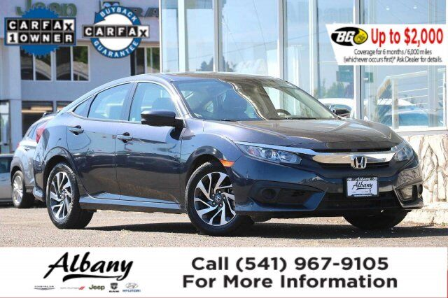 2018 Honda Civic Sedan EX w/Honda Sensing Albany OR