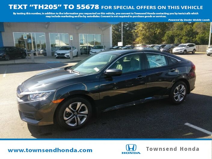 2018 Honda Civic Sedan LX 2.0L Tuscaloosa AL