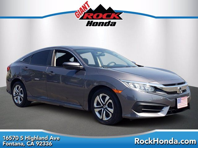 2018 Honda Civic Sedan LX Fontana CA