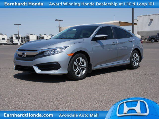 2018 Honda Civic Sedan LX Manual Avondale AZ