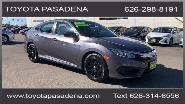 2018 Honda Civic Sedan LX Pasadena CA