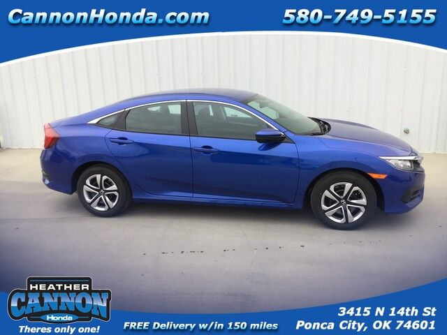2018 Honda Civic Sedan LX Ponca City OK