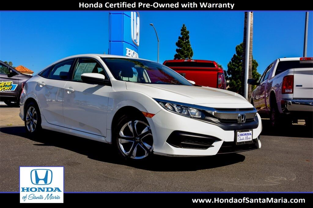 2018 Honda Civic Sedan LX Santa Maria CA