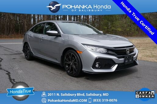 2018_Honda_Civic_Sport ** Honda True Certified 7 Year / 100,000  **_ Salisbury MD