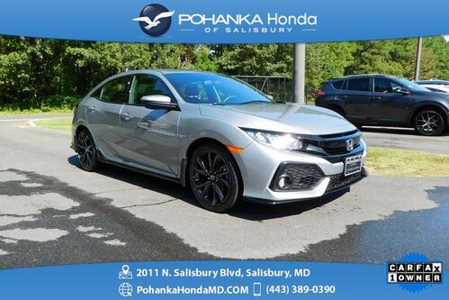 2018_Honda_Civic_Sport Hatch ** Honda True Certified 7 Year/100,000  **_ Salisbury MD