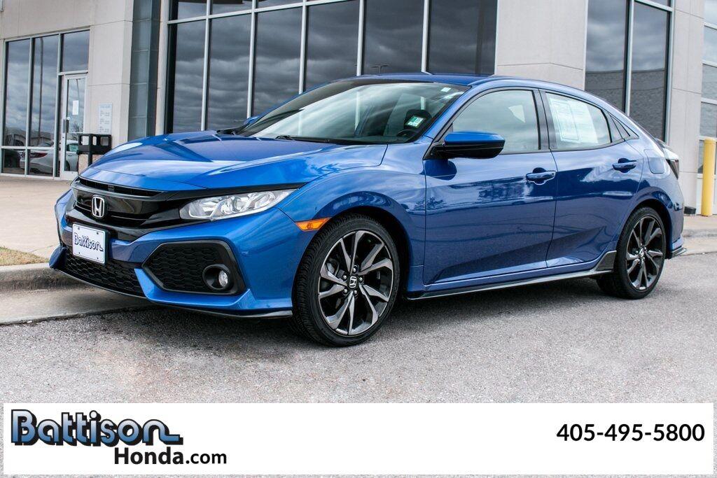 2018_Honda_Civic_Sport_ Oklahoma City OK