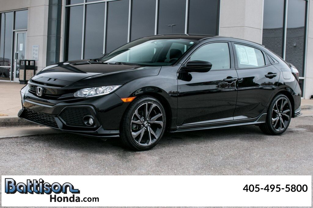 2018_Honda_Civic_Sport_ Oklahoma City OK
