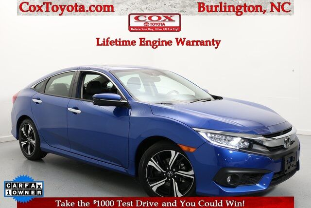 2018 Honda Civic Touring Burlington NC