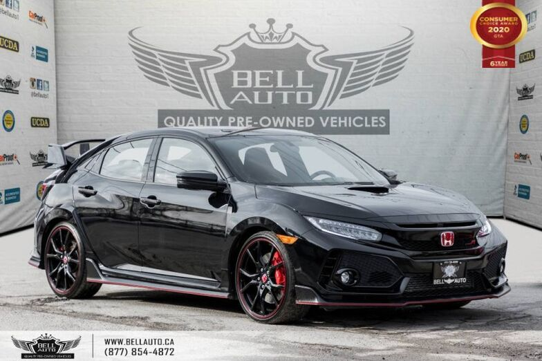 2018 Honda Civic Type R *SOLD SOLD SOLD *NO ACCIDENTS, RARE CAR, NAVI, 6 SPD, RED INTERIOR. Toronto ON