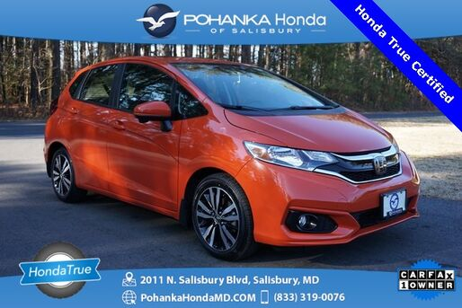 2018_Honda_Fit_EX ** Honda True Certified 7 Year / 100,000  **_ Salisbury MD
