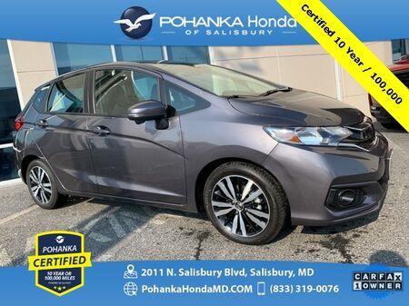 2018_Honda_Fit_EX-L ** Pohanka Certified 10 Year / 100,000 **_ Salisbury MD