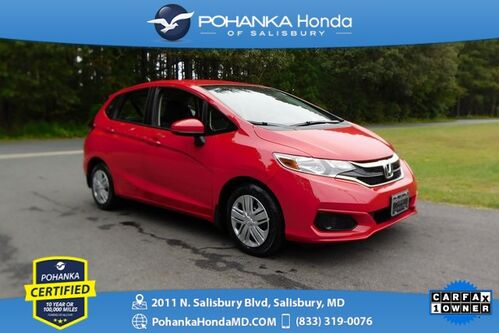 2018_Honda_Fit_LX ** Pohanka Certified 10 Year / 100,000  **_ Salisbury MD