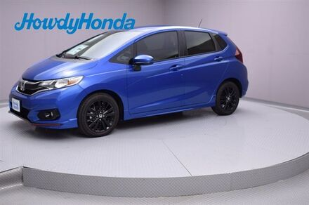 2018_Honda_Fit_Sport Manual_ Austin TX