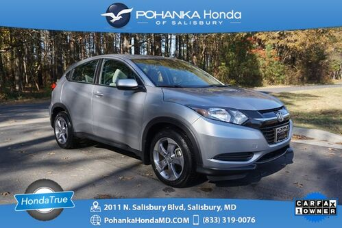 2018_Honda_HR-V_LX ** Honda True Certified 7 Year / 100,000  **_ Salisbury MD