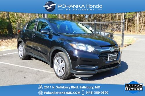 2018_Honda_HR-V_LX ** ONE OWNER ** HONDA CERTIFIED 7 YEAR / 100,000 *_ Salisbury MD