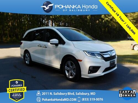 2018_Honda_Odyssey_EX-L ** Pohanka Certified 10 Year / 100,000  **_ Salisbury MD
