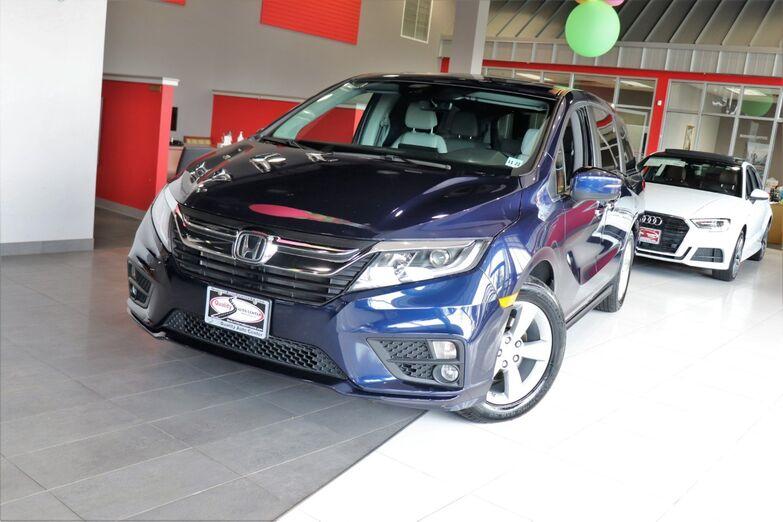 2018 Honda Odyssey EX-L Leather Seats Third Row Blind Spot 1 Owner Springfield NJ