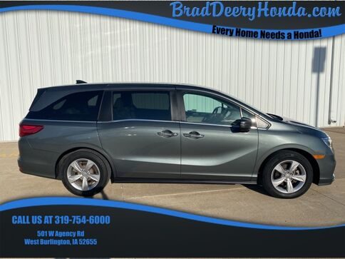 2018_Honda_Odyssey_EX-L_ West Burlington IA
