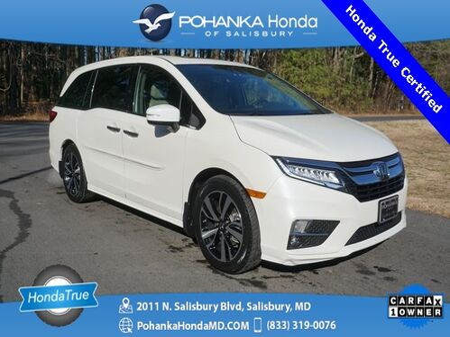 2018_Honda_Odyssey_Elite ** NAVI ** Honda True Certified 7 Year / 100,000_ Salisbury MD