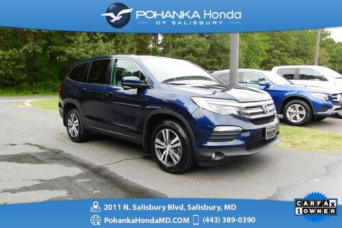 2018_Honda_Pilot_EX ** Honda True Certified 7 Year/100,000  **_ Salisbury MD