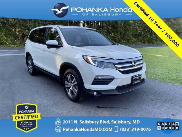2018 Honda Pilot EX-L ** Pohanka Certified 10 Year / 100,000 ** Salisbury MD