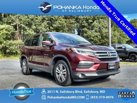 2018_Honda_Pilot_EX-L AWD ** Honda True Certified 7 Year / 100,000  **_ Salisbury MD