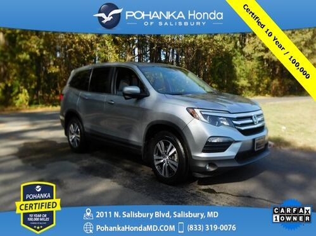 2018_Honda_Pilot_EX-L AWD ** Pohanka Certified 10 Year / 100,000  **_ Salisbury MD