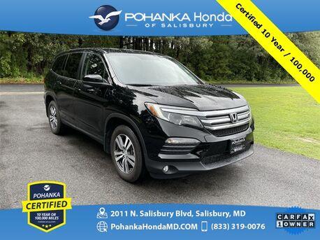 2018_Honda_Pilot_EX-L Pohanka Certified 10 Year / 100,000 **_ Salisbury MD