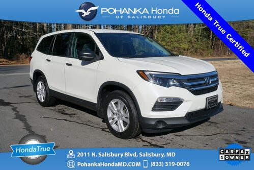2018_Honda_Pilot_LX ** 3RD ROW ** Honda True Certified 7 Year / 100,00_ Salisbury MD