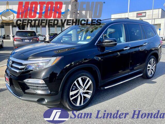 2018 Honda Pilot Touring 2WD w/Pedigree Salinas CA