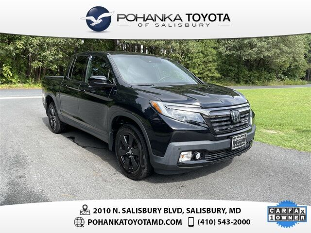 2018 Honda Ridgeline Black Edition Salisbury MD