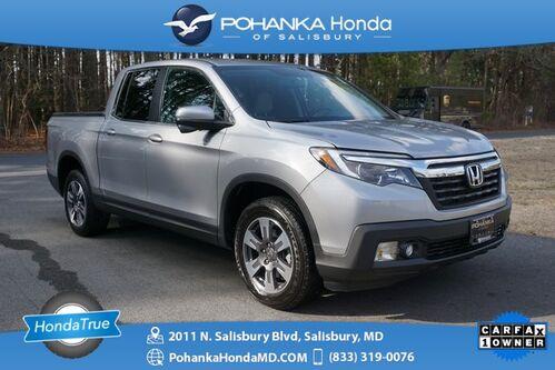 2018_Honda_Ridgeline_RTL-T AWD/NAVI ** Honda True Certified 7 Year/100,000  *_ Salisbury MD