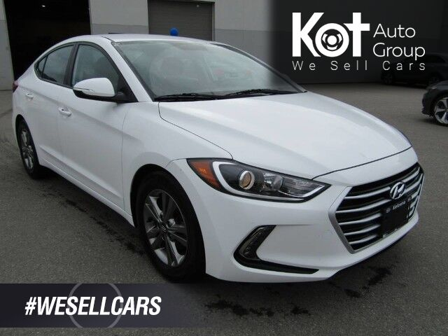 2018 Hyundai ELANTRA GL! BACKUP CAM! BLIND SPOT DETECTION! BLUETOOTH! APPLE CAR PLAY! HEATED SEATS! HEATED STEERING WHEEL! BEAUTY RIDE! SAVE THOUSANDS FROM NEW! Kelowna BC
