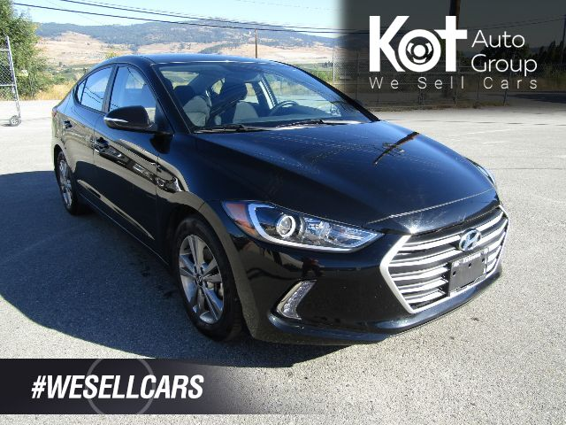 2018 Hyundai ELANTRA GL! BLACK BEAUTY! BACKUP CAM! HEATED SEATS! HEATED STEERING WHEEL! APPLE CAR PLAY! Kelowna BC