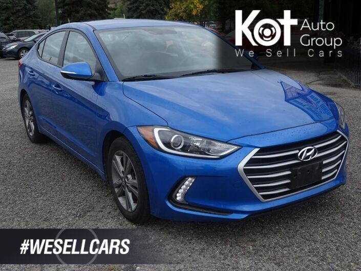 2018 Hyundai Elantra GL, Back Up Camera, Heated seats & Steering Wheel, Low KM's, No Accidents! Kelowna BC