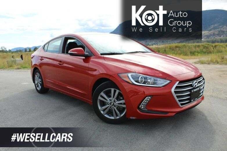 2018 Hyundai Elantra GL, Beautiful Phoenix Orange Pearl, Low Km's Kelowna BC