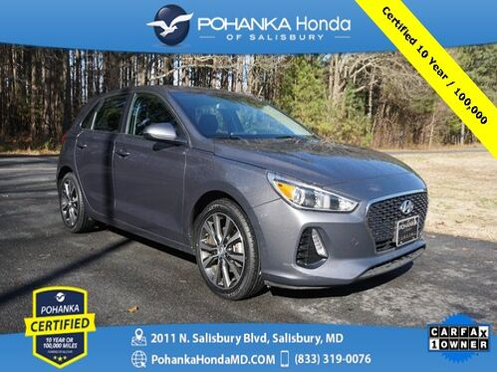 2018_Hyundai_Elantra GT_Base ** Pohanka Certified 10 Year / 100,000  **_ Salisbury MD