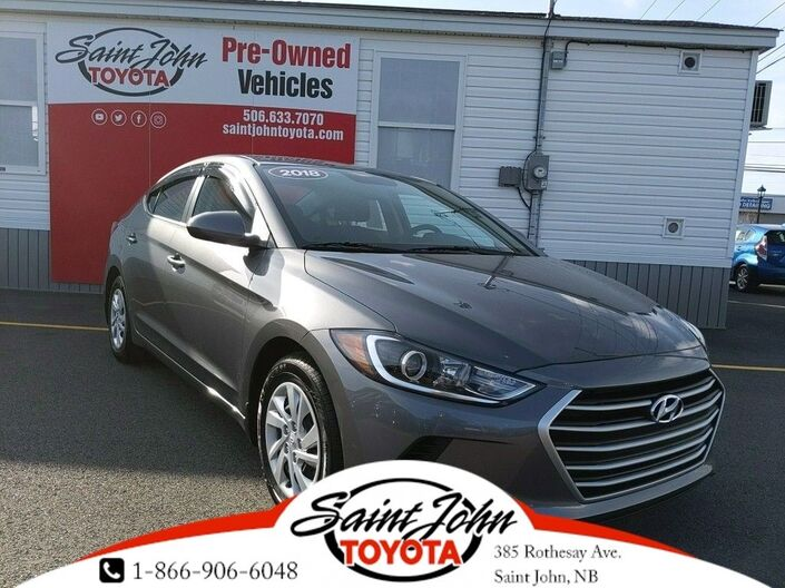 2018 Hyundai Elantra L - DRASTICALLY REDUCED!! Saint John NB