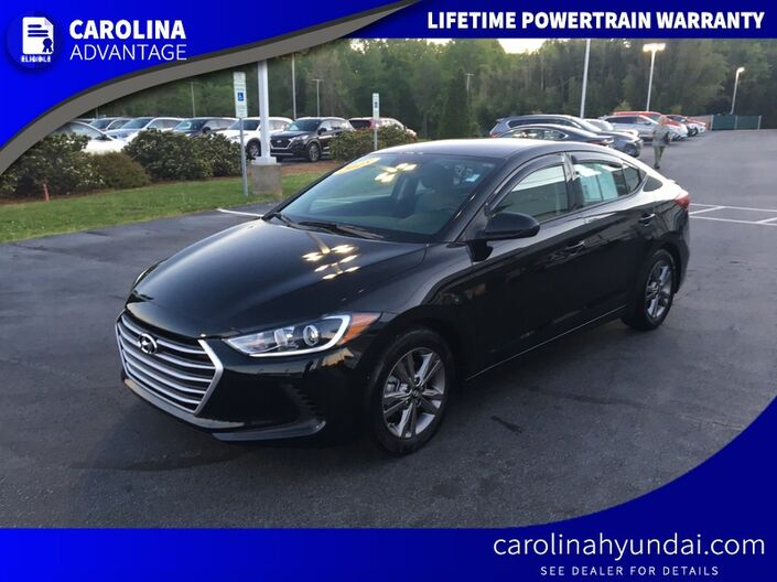 2018 Hyundai Elantra Limited High Point NC